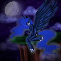 Princess Luna by ChiakiTasso
