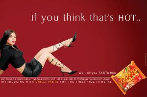 Mayos Hot and Sour Ad by kingshrestha