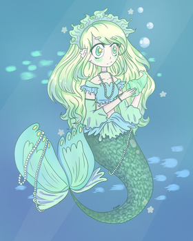 Mermay! by noorkawaii