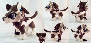 Wolf Link Plushie by dollphinwing