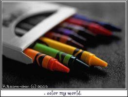 .color my world. by Kitsume-chan