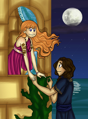 Hero and Leander Cover