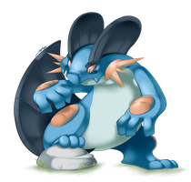 Swampert by yeomaria