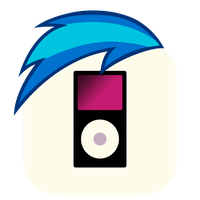 MLP:FiM Vinyl Scratch Mane iPhone Music Icon by craftybrony