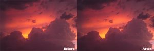 Clouds Before and After 02 by cfrevoir