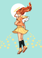 Flame Princess by lilivale
