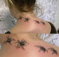 Spiders! by Aza89