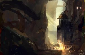 Quick speed paint by Travis-Anderson