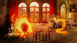 OUAT 2O13 Calendar - April by Mukhina-KS