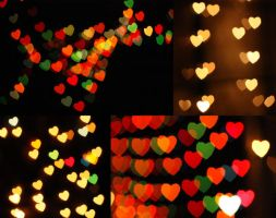 Heart Bokeh by KatherineDavis
