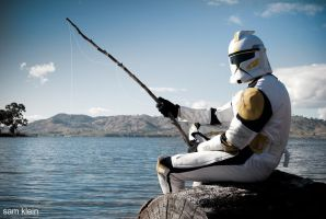 Clone troopers day off.. by MasNielk