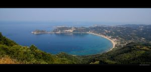The Blue Shores of Greece by vxside