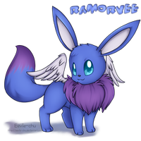 Ramorvee the winged Vee ID by Eevie-chu