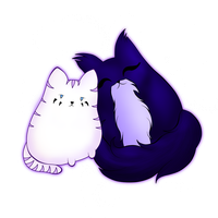 Pusheen style Ivory and Megaria by 2050