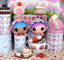 Bonnet babies - Lalaloopsy Littles by choucream