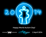 Happy World Autism Day 2014 by JWthaMajestic
