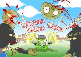 Plants vs Zombies fight by ChinaBo