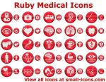 Ruby Medical Icons by trayiconappl24