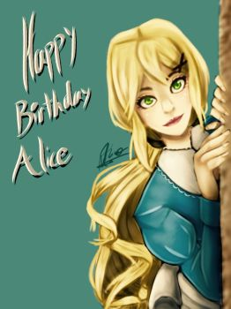 Happy Birthday Alice! by Long-live-thequeen