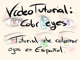 VideoTutorial SAI: Eye Color (Spanish) by ArantxaCosplayer