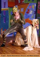 Commedia Dell'Arte performance by Alyssa-Ravenwood