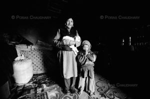 In a Ladakhi House by poraschaudhary