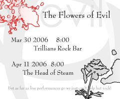 The Flowers of Evil Flyer 1 by haighy