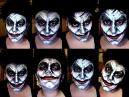 Joker Cosplay Make-Up by 2034220p4rd1