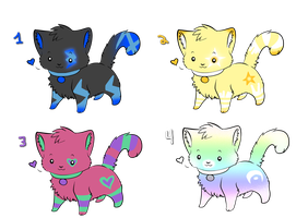 Kitty Point Adoptables 2 by PiichixChan