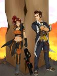 Handsome Jack and Ratchet by raynetempura