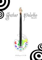 Palette Guitar by Shiriel
