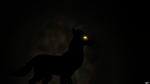 Shadow Wolf by Earth-Girl-42