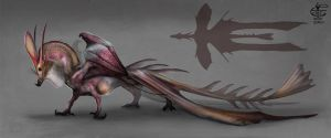 Filleted Dragon by Vincent-Covielloart