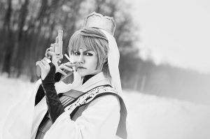 Genjo Sanzo (Winter Shot) 02 by Megane-Saiko