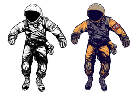 Astronaut - Movie Project final version. by LeftHandOfDoom