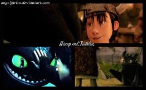 Hiccup and Toothless by Angelgirl10