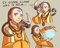 Sister Claire in ATLA by Yamino