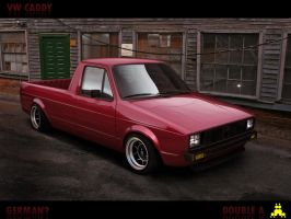 VW caddy by doubleart