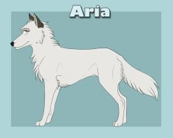 Aria reference sheet v.6 by AriaDog