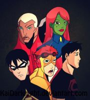 YJ: The Young Heroes by KaiDarknight