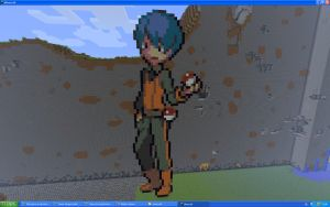 Ace Trainer On Minecraft by Miccopicco