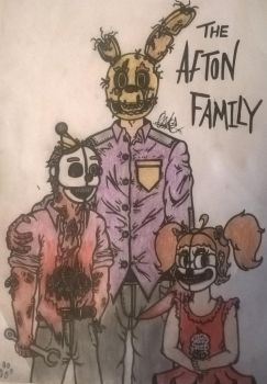 The afton family by cOmicBrooks