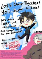 YURI ON ICE GIANT COLLAB INVITATION [CLOSED] by poppyrous