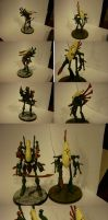 Eldar Wraithlords by Asurael-Returns