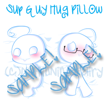 Sup guy pillow FOR SALE!! by MuffinNinjaFairy