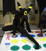 Umbreon Cosplay 1 by LunarFireFox