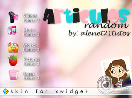 Articulos Random for xwidget by alenet21tutos