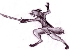 Burr the Fox by EWilloughby