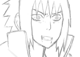 Sasuke sketch by Jimbobads