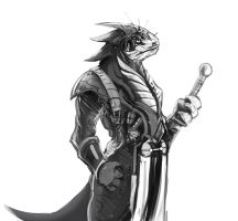Dragon Swordsman by w4tsup